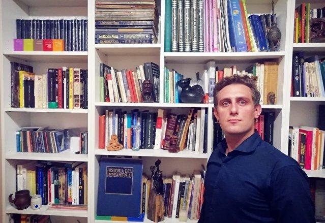 Francisco Garrido, un joven argentino, aspira a estudiar gerenciamiento en Moscú gracias a las becas del Gobierno de Rusia