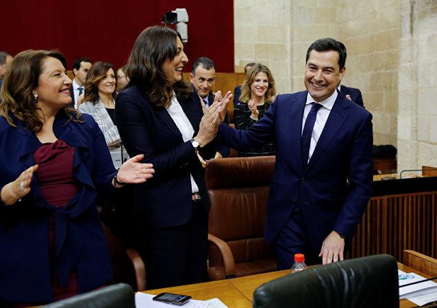 Juan Manuel Moreno, nuevo presidente de la Junta de Andalucía