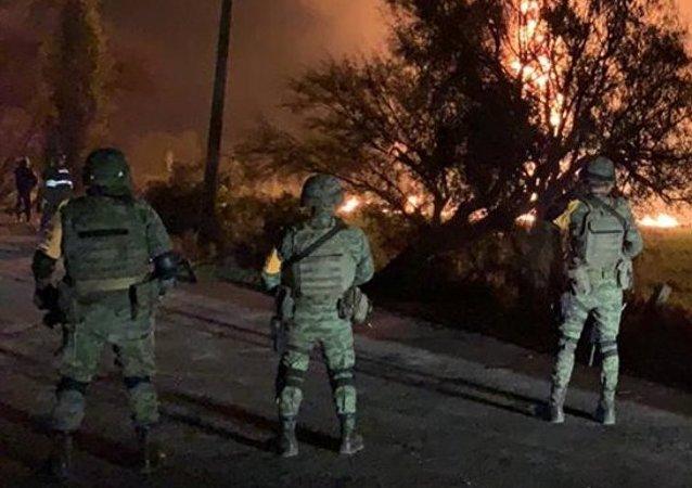 Explosión de ducto en México, el 18 de enero de 2019