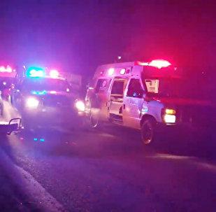 Personal de emergencia llega al lugar de la tragedia en México