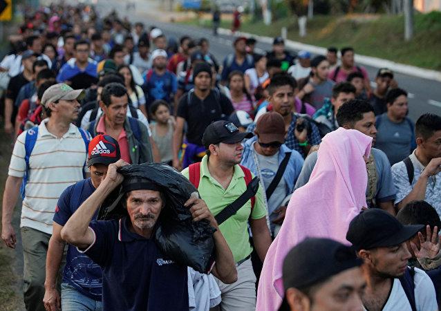 Caravana de migrantes (archivo)