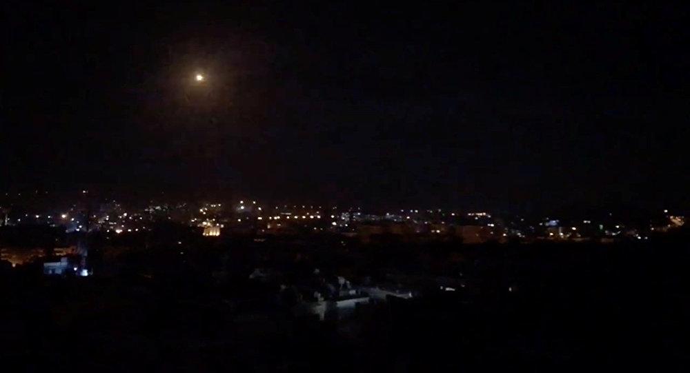 Ataque isralí contra Damasco, Siria