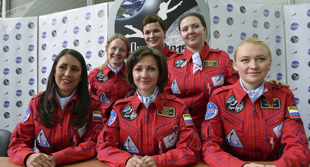 Cosmonautas rusas (archivo)