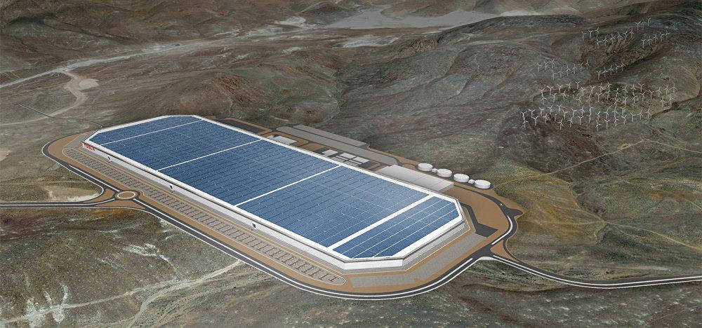 Tesla Gigafactory en Nevada (EEUU)