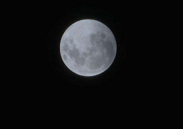 Así fue el espectacular eclipse de la luna de sangre