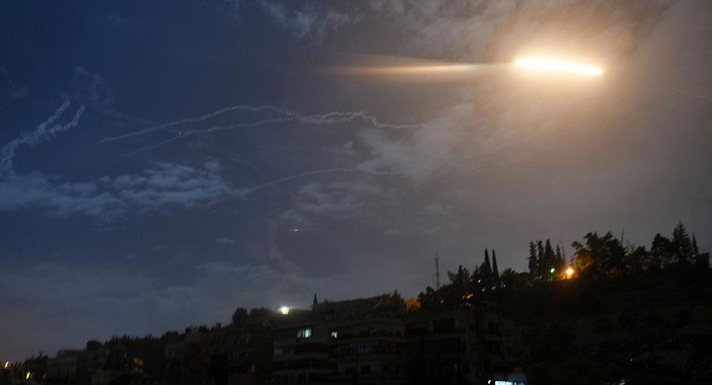 Ataque de misiles contra Damasco, Siria