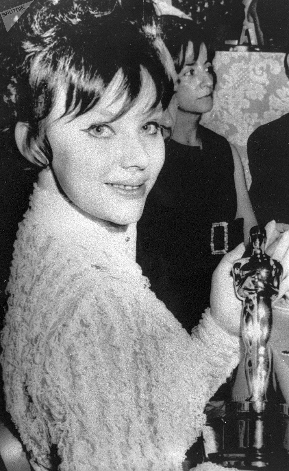 Lyudmila Savelyeva en la ceremonia de los Premios Óscar (archivo)