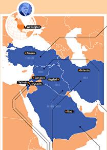 La política de Donald Trump en Oriente Medio cumple dos años