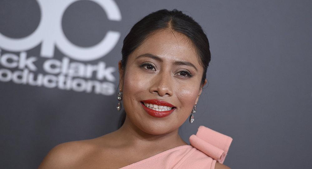 Yalitza Aparicio, protagonista de la película Roma de Alfonso Cuarón