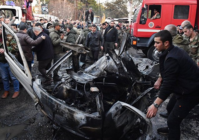 Explosión de un coche bomba en Siria (archivo)