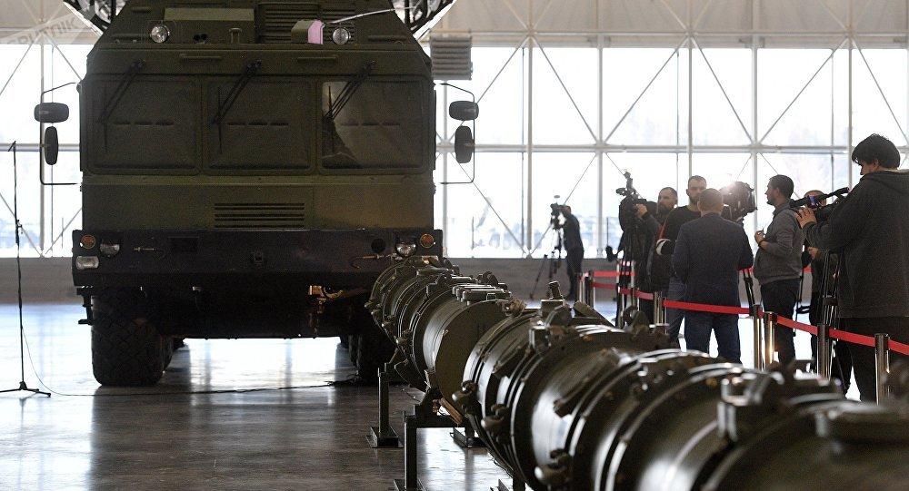 La prensa fotografía al misil 9M729