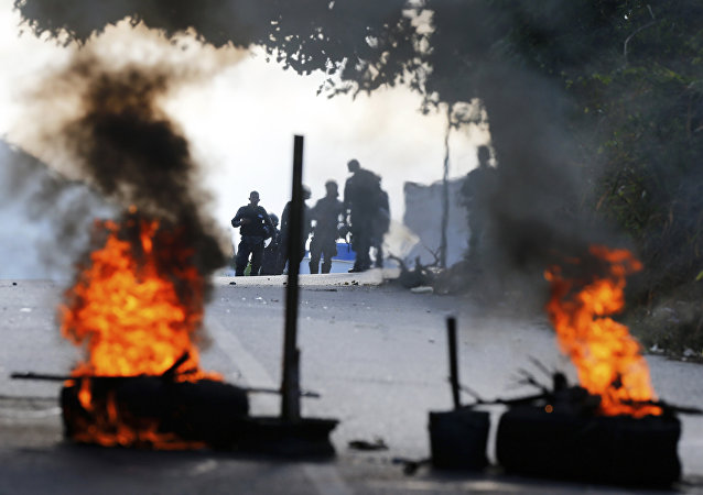 Protestas antigubernamentales en Caracas, Venezuela (archivo)