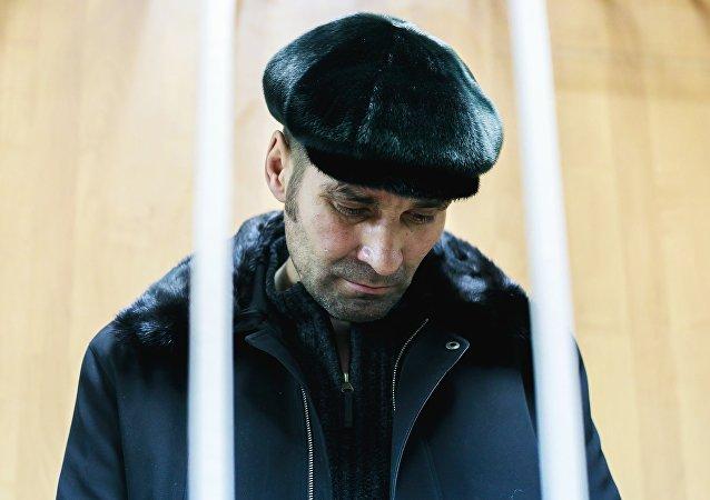 Pável Shapoválov, pasajero que el 22 de enero obligó a la tripulación de un vuelo de la aerolínea rusa Aeroflot a modificar su ruta