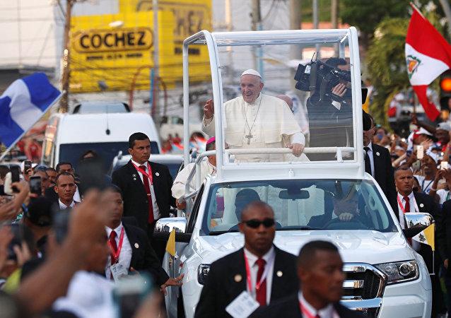Papa Francisco en Panamá