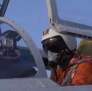 Un Su-27 ruso intercepta un avión espía de Suecia