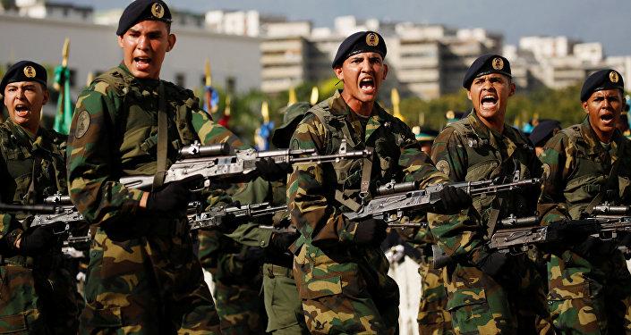 Los soldados venezolanos