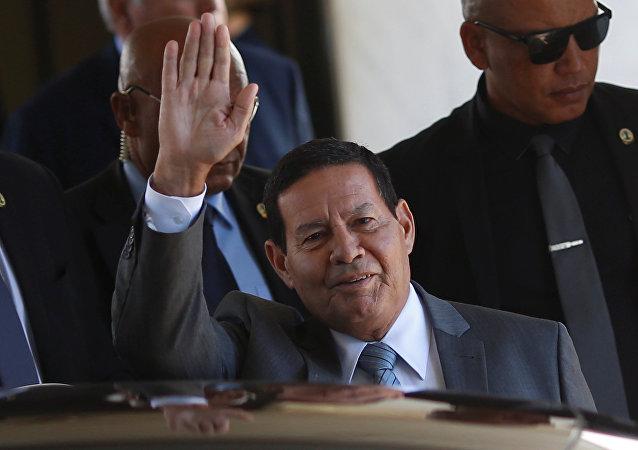 Antonio Hamilton Mourao, vicepresidente de Brasil