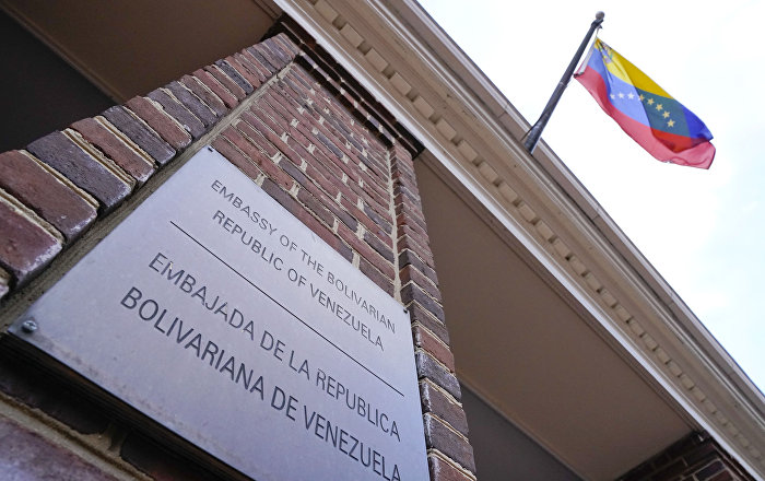 La embajada de Venezuela en Washington