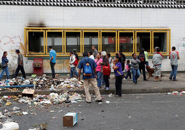 Situación en Caracas tras protestas