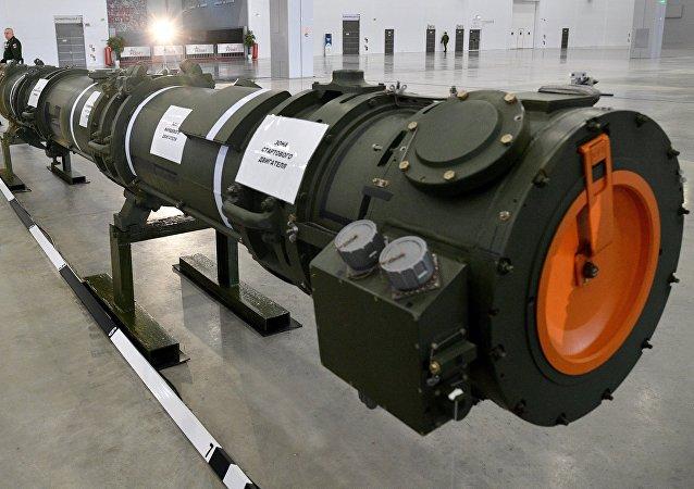 Demostración del misil ruso 9M729 a los agregados militares