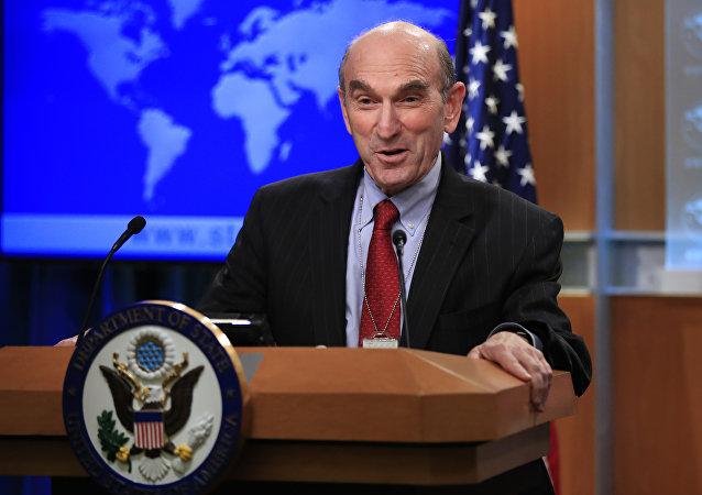 Elliott Abrams, enviado especial de EEUU para Venezuela (archivo)
