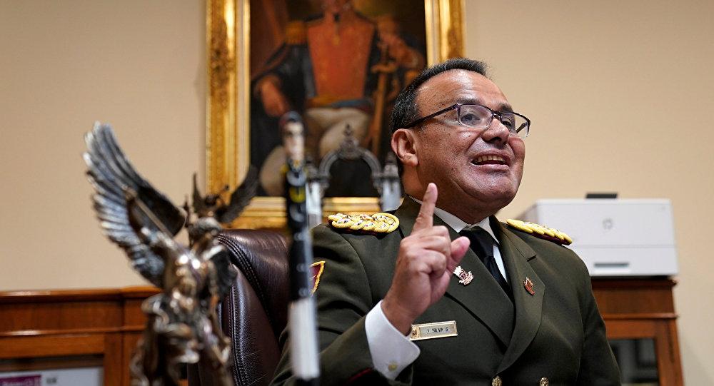 El coronel José Luis Silva, el agregado militar de Venezuela en Washington