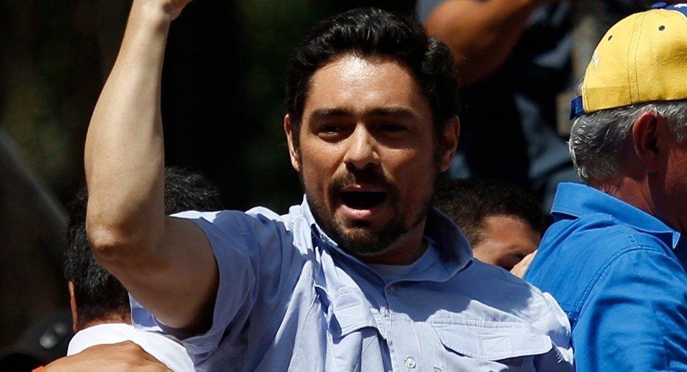 Carlos Vecchio, opositor venezolano