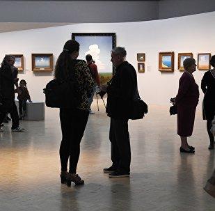 Exposición del paisajista Arjip Kuindzhi en la Galería Tretiakov de Moscú