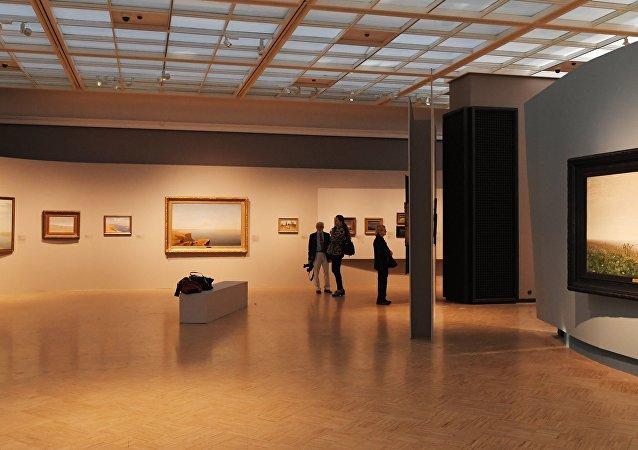 La expoición de Arjip Kuindzhi en la Galería Tretiakov