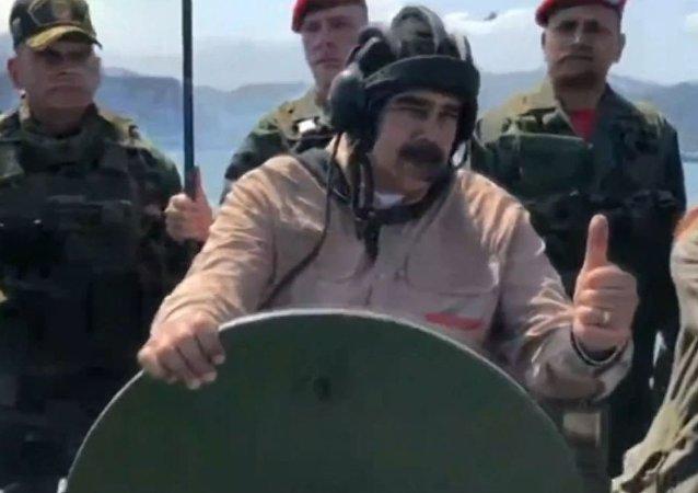 Serán las maniobras militares más importantes de nuestra historia: Maduro inspecciona las tropas (vídeo)