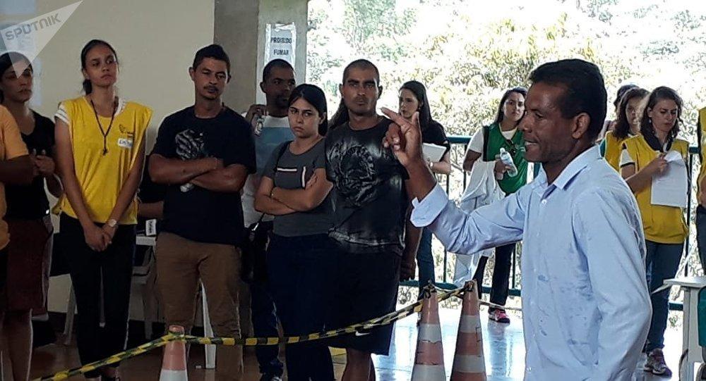 Familiares de desaparecidos en Brumadinho se refugian en la religión ante la desesperación por la falta de notícias