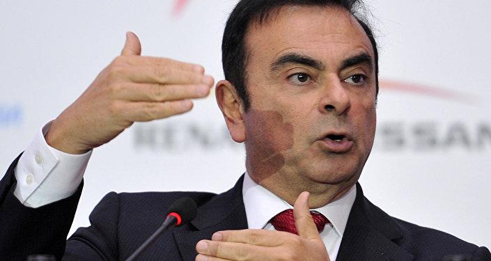 Carlos Ghosn, el expresidente de Nissan Motor