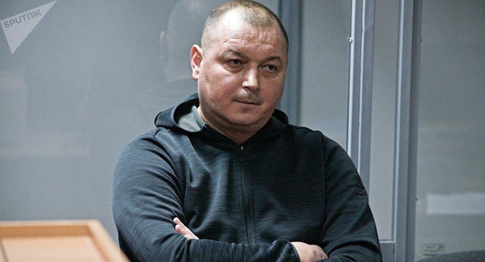 El capitán del barco pesquero ruso Nord, Vladímir Gorbenko