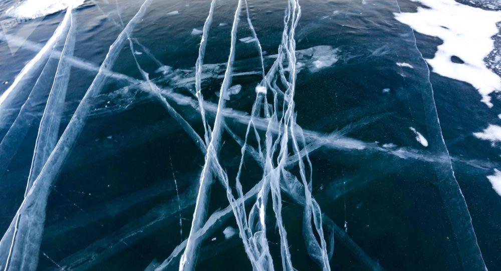 El hielo sobre Baikal
