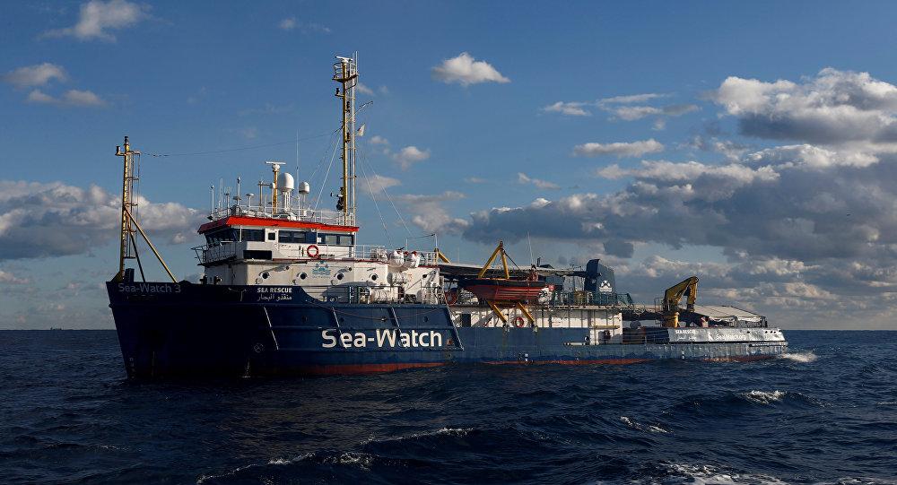 El buque de migrantes Sea Watch 3
