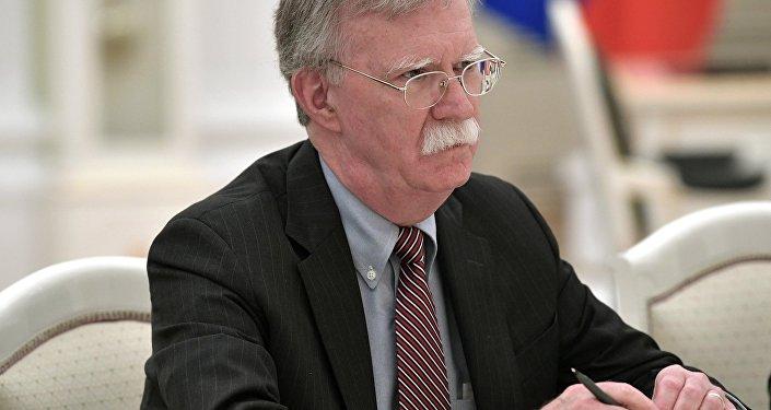 El secretario de Seguridad Nacional de EEUU, John Bolton