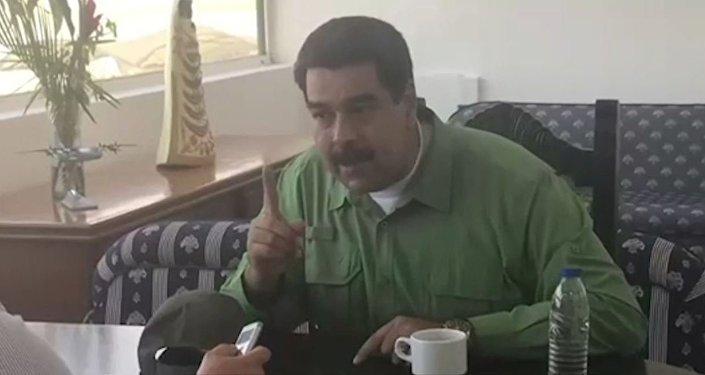Nicolás Maduro: Las sanciones muestran el nivel de desesperación en la Casa Blanca