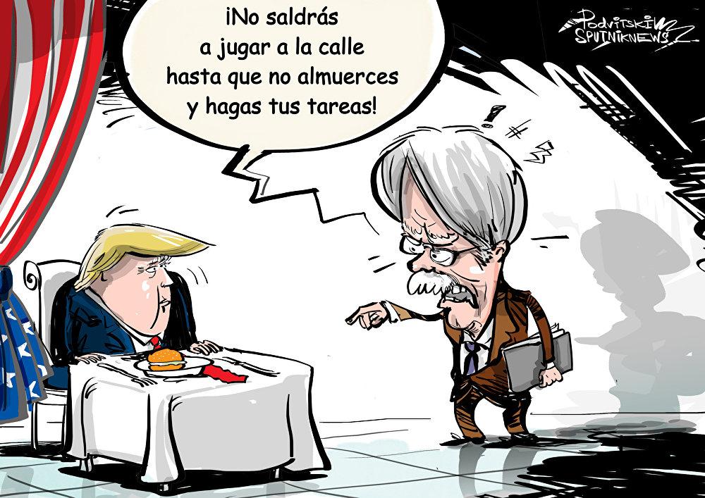 Bolton, el 'papá' de Trump