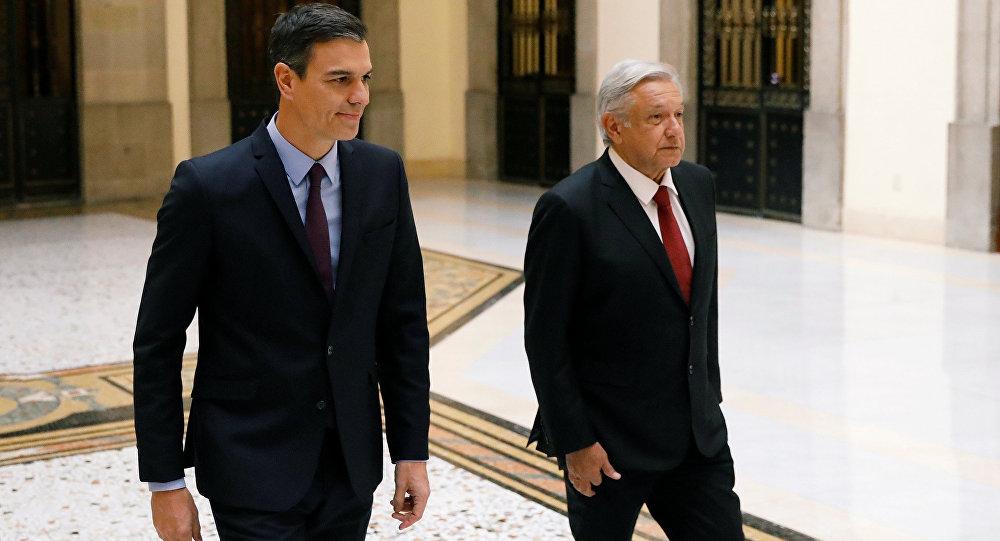 Presidente del gobierno español concluye visita a México