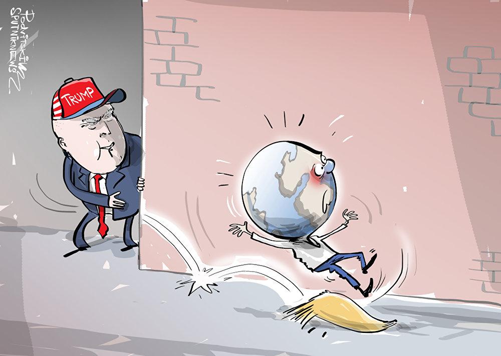 La vergüenza de EEUU está en la Casa Blanca