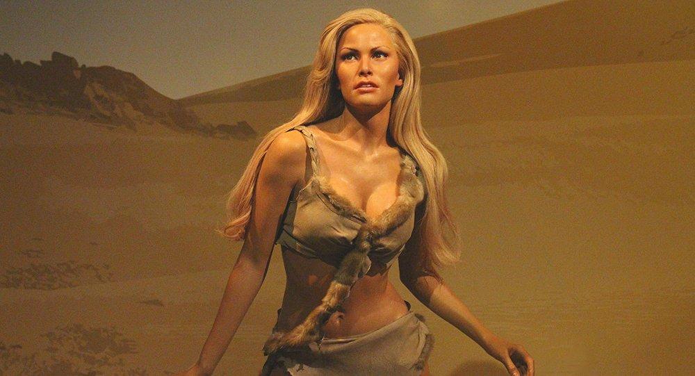 La figura de cera de la heroína interpretada por Raquel Welch en la película 'One Million Years B.C.'
