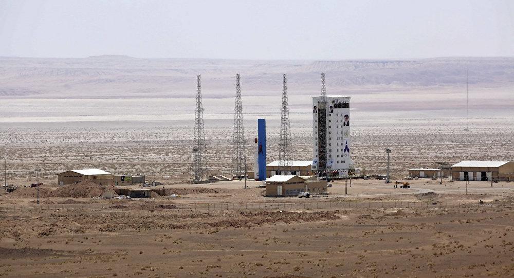 Lanzamiento de un satélite en Irán (archivo)