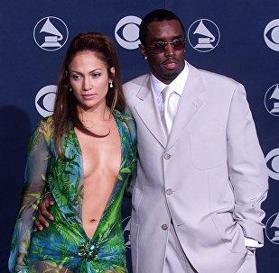 Jennifer Lopez y Sean Combs, en 2000