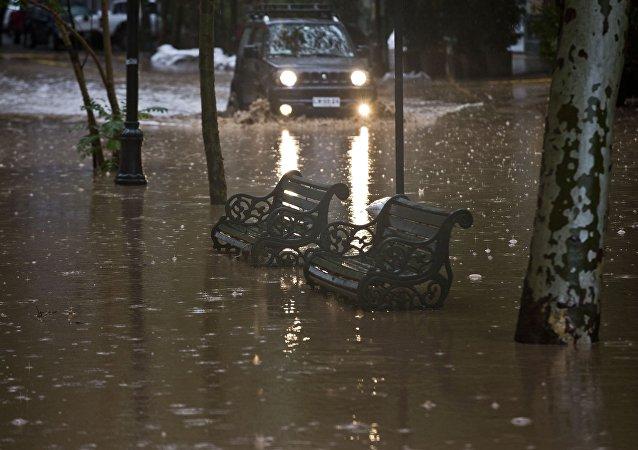 Aluviones en Chile (archivo)