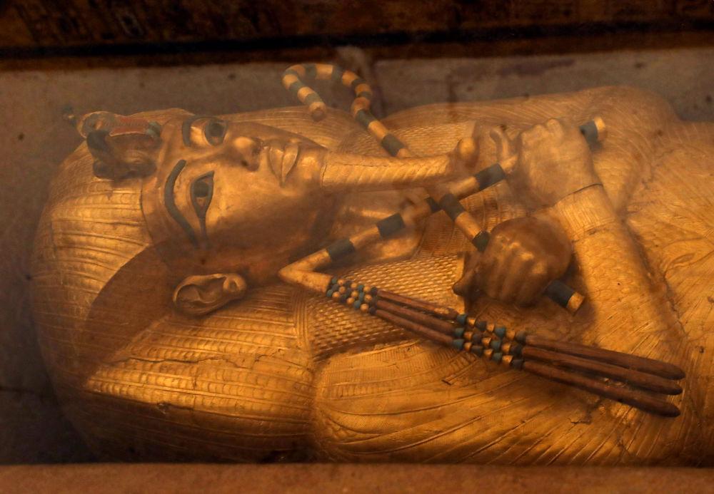 Finaliza en Egipto la reconstrucción de la tumba 'maldita' de Tutankamón
