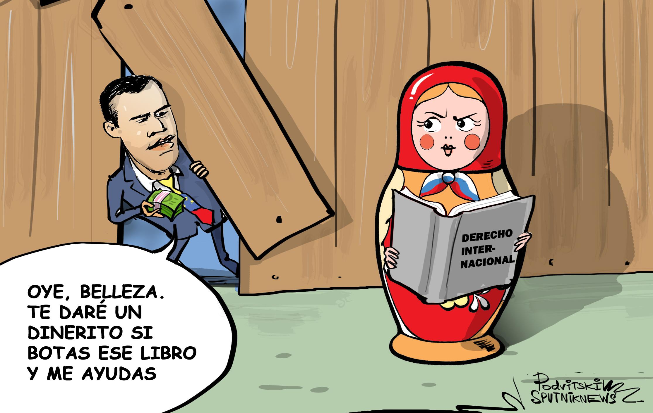 Cómo Guaidó busca 'seducir' a Rusia