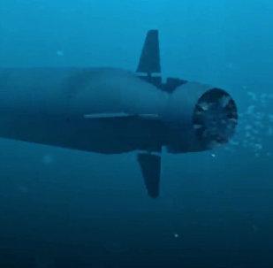 El dron submarino Poseidón (archivo)