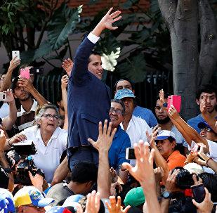 Juan Guaido, líder de la oposición venezolana