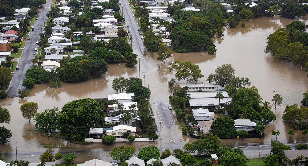 La inundación en Australia