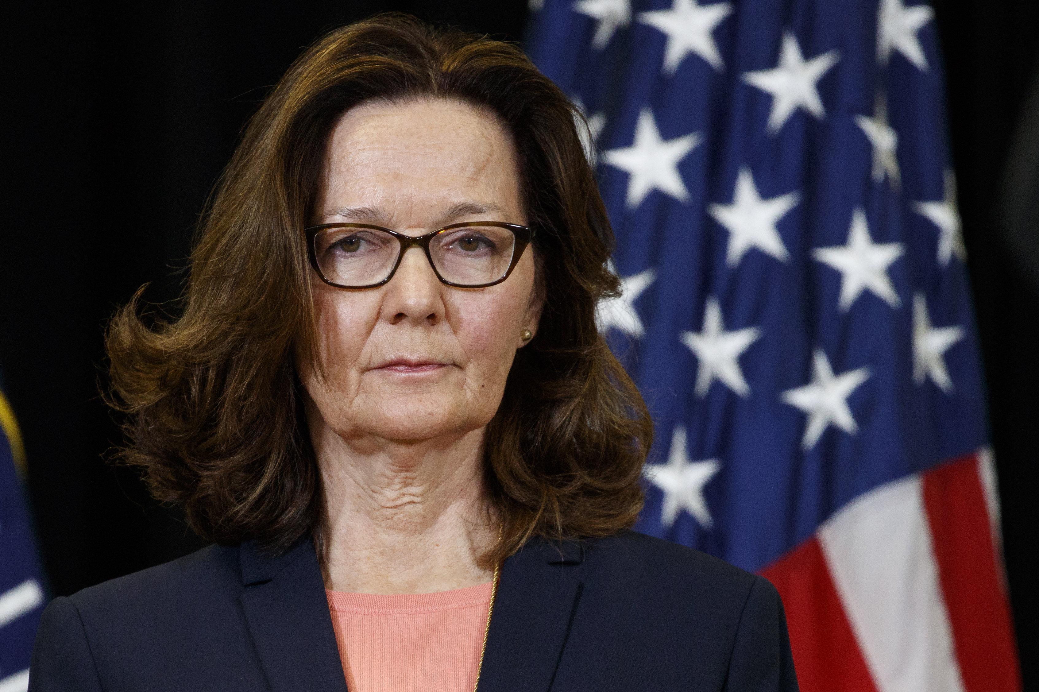 Gina Cheri Haspel, es una oficial de inteligencia estadounidense, actual directora de la CIA